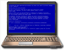 Dell Laptop Computers Freezing, Start Up Error, Blue Screen Fixing