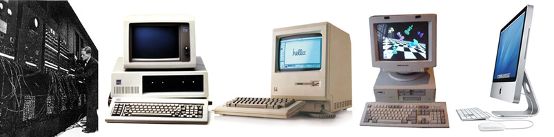 the development of the computer technology in the modern times