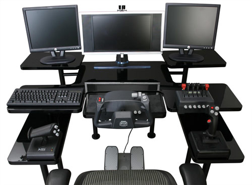 Gaming Computer Desk - Custom Build Computers