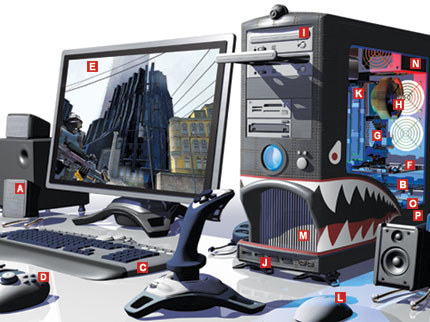 the gaming PC is that the custom gaming computer is more customized ...