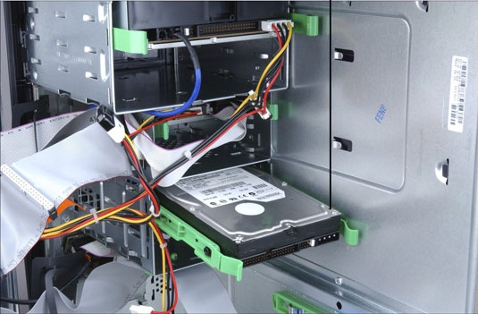 how to transfer files to a new hard drive