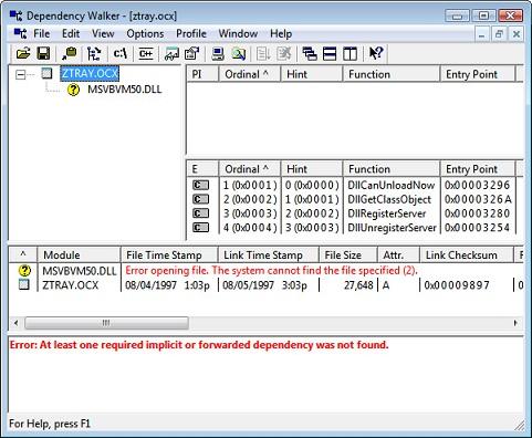Msvbvm50.dll скачать для Windows 7 - фото 11
