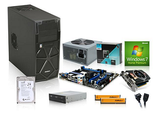 how to build a pc parts